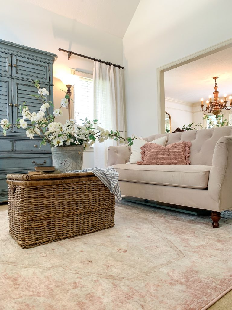 A French Country Cottage Living Room